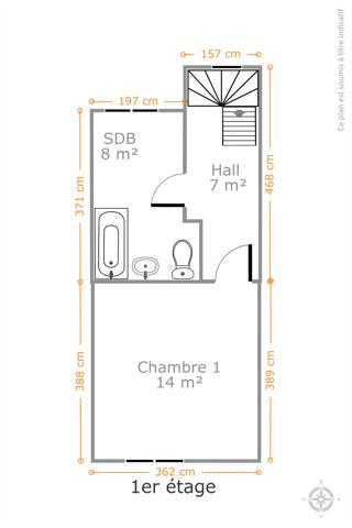 Morgan's Real Estate vous présente une maison unifamiliale de 2/3 Chambres à Rénover de 103m² habitable (130m² brute)