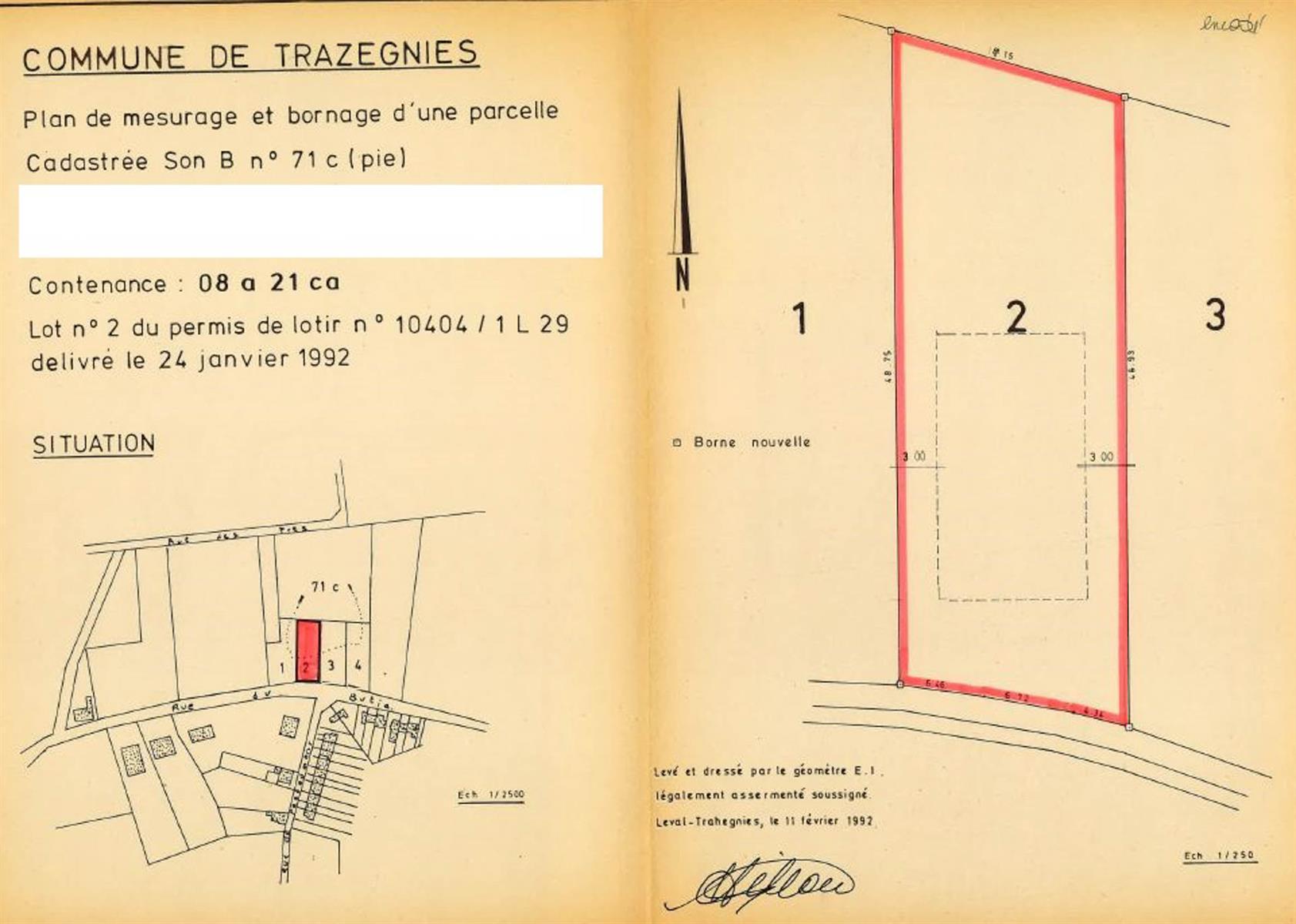 Terrain à bâtir - Trazegnies - #3967988-11