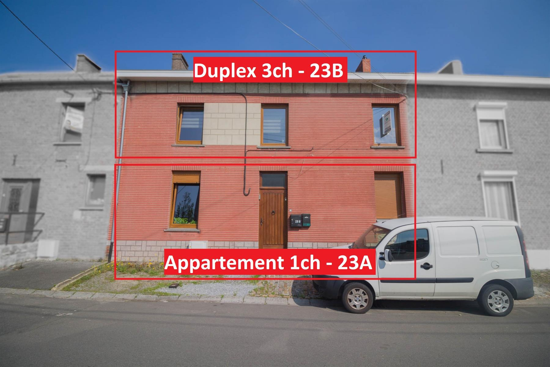 Immeuble à appartements - Forchies-la-Marche - #4397246-0