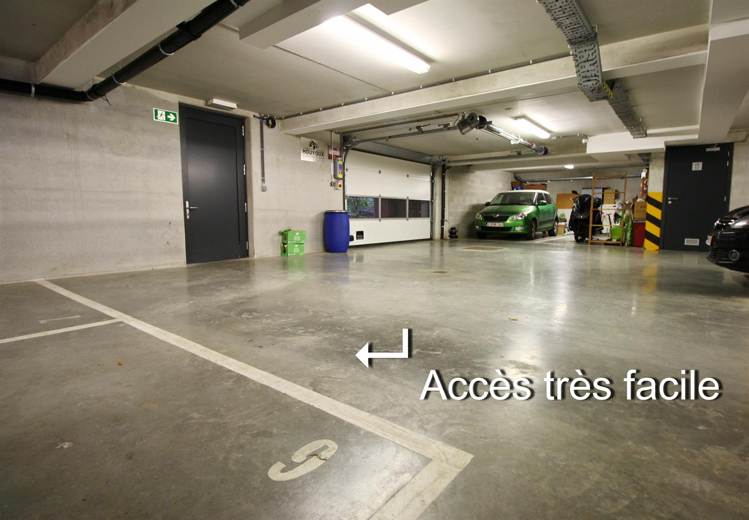 Parking intérieur - Watermael-Boitsfort - #4186431-2
