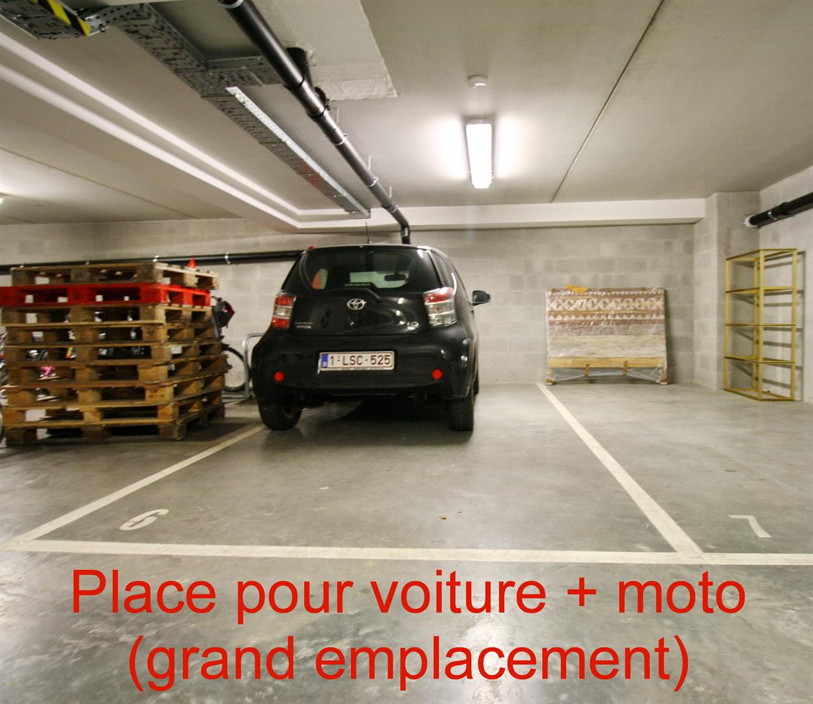 Parking intérieur - Watermael-Boitsfort - #4186431-0