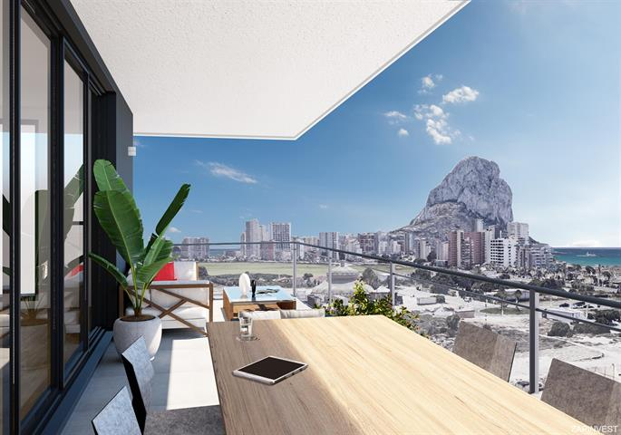 Appartement in Calpe, Costa Blanca Noord