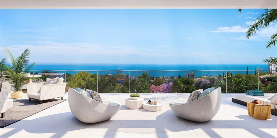 Penthouse te Marbella, Malaga - Costa del Sol
