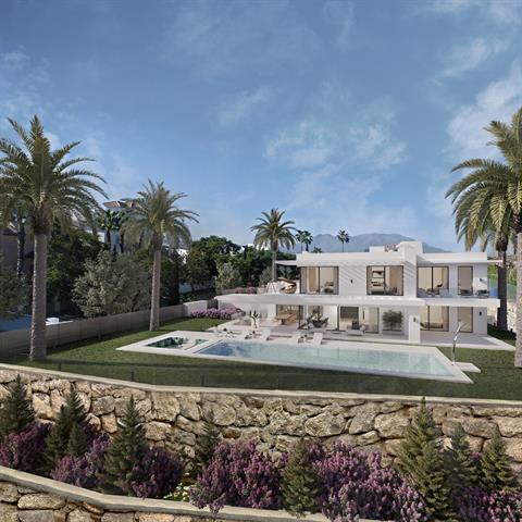 Villa à Los Flamingos/Malaga, Costa Del Sol